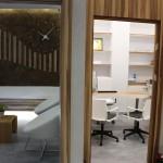 Sala de espera y despacho. #sotano5 sillones y complementos